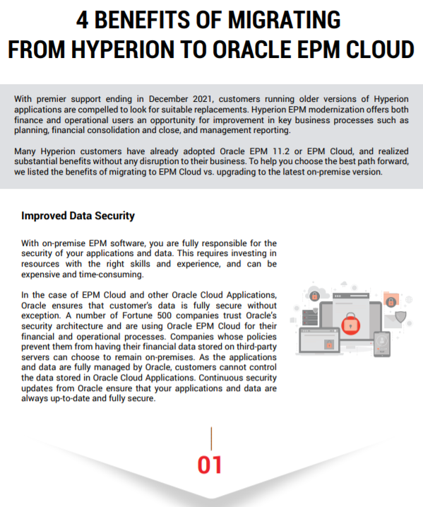 4 Benefits of Migrating from Hyperion to Oracle EPM Cloud